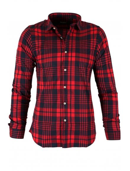 Карирана риза CAM-6576 А - 1 004