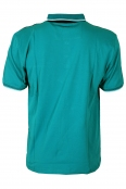 Макси блуза с якичка 5636 петрол