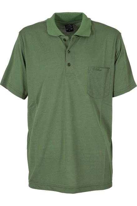 Блуза с якичка COLLECT зелена
