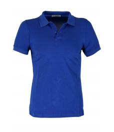 Блуза с якичка Slim fit А125 кралско син