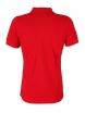 Блуза с якичка Slim fit А125 червена