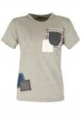 Мъжка тениска 705 сива