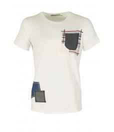 Мъжка тениска 705 бяла