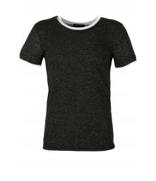 Мъжка тениска slim fit 666 графит
