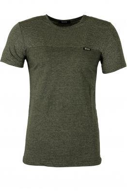 Блуза slim fit  2012 зелена