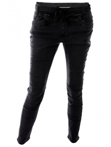 Дамски дънки V-898 черни
