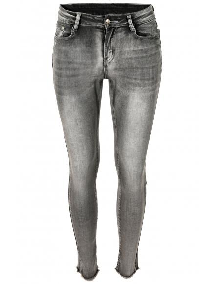 Дамски дънки  1802 сиви