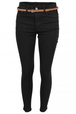 Дамски дънки MS1271 черни