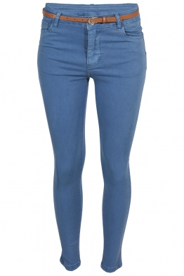 Дамски дънки S 3755 сини