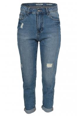 Дамски дънки mom jeans SH 9553