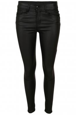 Дамски панталон с кожен ефект DM 9209