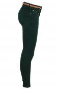 Дамски дънки S 2116-77 зелени