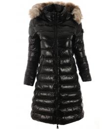 Дамско зимно яке 18-68 черно