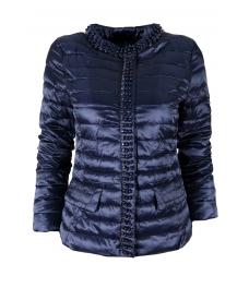 Дамско яке 18001 тъмно синьо