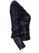 Дамско кожено яке HD 2001 тъмно синьо