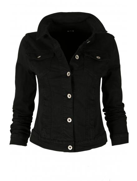Дънково яке 6150-1 черно