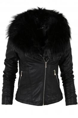 Дамско  кожено яке K-M95