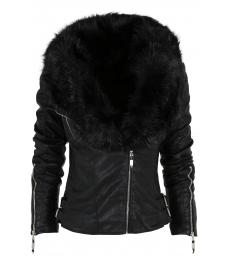 Дамско  кожено яке K-M100
