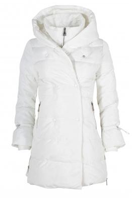 Дамско зимно яке 96012 бяло
