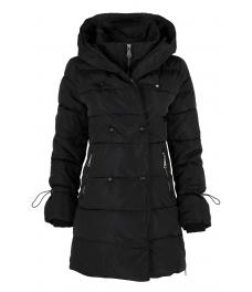 Дамско зимно яке 96012 черно