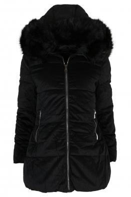Дамско зимно яке 97011 черно