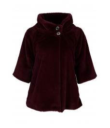 Дамско палто Лейдис бордо