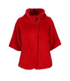 Дамско палто Лейдис червено