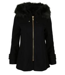 Дамско палто 18132-1 черно