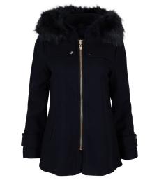 Дамско палто 18132-55 тъмно синьо