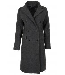 Дамско палто 18150-7 сиво