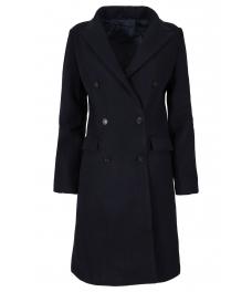 Дамско палто 18150-55 тъмно синьо