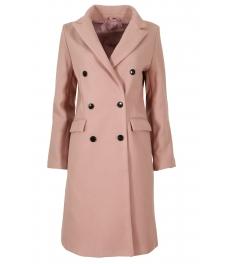 Дамско палто 18150-9 розово