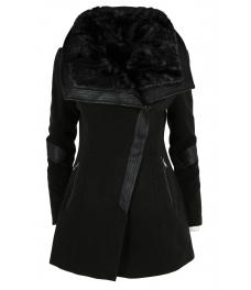 Дамско палто FS 77012 черно