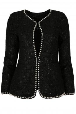 Дамско сако 3Y-159 черно