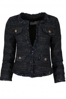 Дамско сако 3Y-165 тъмно синьо