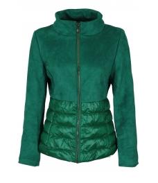 Дамско яке 18026 зелено