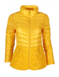 Дамско яке 19021-60 жълто