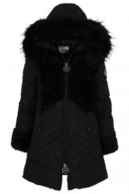 Дамско зимно яке 1413 черно