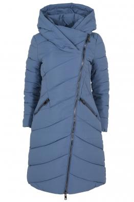Дамско зимно яке 20618 синьо