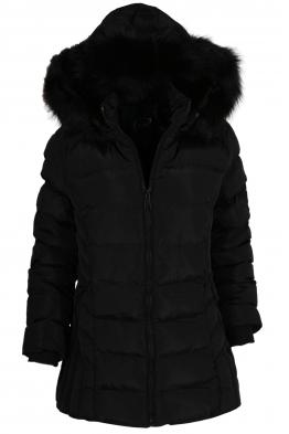 Дамско зимно яке 20702 черно