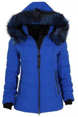 Дамско зимно яке 228 кралско синьо