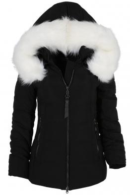 Дамско зимно яке 228 черно