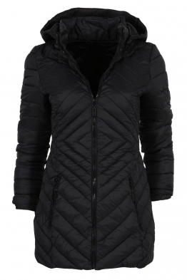 Дамско яке D - 01 черно