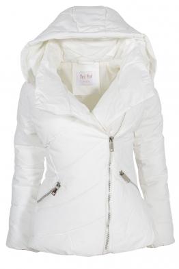 Дамско зимно яке 068-44 бяло