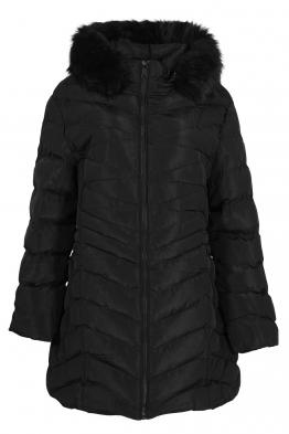 Дамско зимно яке CS 20701-45 черно