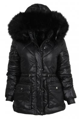 Дамско зимно яке CS 21910-44 черно