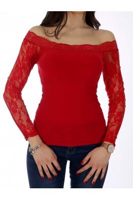 Дамска блуза СЕЛИН червена