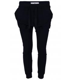 Панталон от трико  А 810 тъмно син
