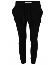 Панталон от трико  А 810 черен