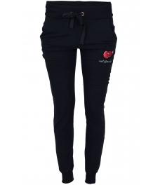 Панталон от трико 2016 тъмно син